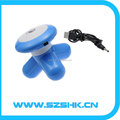 New Tripod Massager Body Head Mini Massager Fashion USB Cable Gift 7 Color Facilitate Full Body Massager