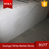 Chinese good quality synthetic pure white marble stone slab
