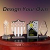 Design your own souvenir gifts crystal award trophy to win warm praise from customers