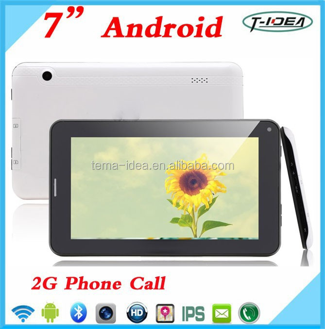 Cheap 7 Inch Tablet, Allwinner A33 Quad Core Phone Tablet Pc With Keyboard And Sim Card