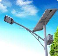 solar led panle light 5W 8W 12W 15W 18W 20W 25W 30W 40W 50W 60W 70W 80W Aluminum Integrated Solar Street Lights