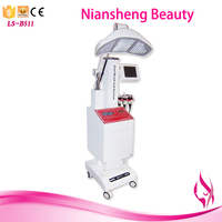 High quality led mask 7 colors light therapy photon skin rejuvenation
