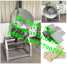 automatic puffed rice cake mixer machine/candy rice mixer machine with syrup/cereal candy mixing machine