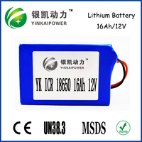 Shenzhen manufacturers customize small 12 volt batteries 12v lithium ion rechargeable battery for CCTV Camera/LED strip battery