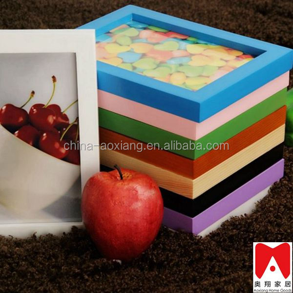 Colourful Plastic Picture Frame 4x6 5x7 6x8 8x10 artificial waterfalls for home frame