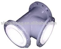 PVDF Lined Pipe Fitting
