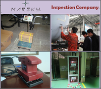 pre-shipment inspection report for steel pipe components / checking service from inspection agent /social audit