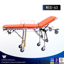stainless steel ambulance stretcher sizes