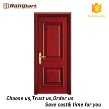 China cheap wooden main door design With ISO9001 Certificate