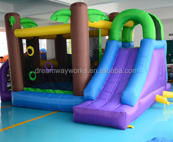 jungle inflatable jumping monwalk /inflatable jungle bouncer/ inflatable bouncy jumper rental
