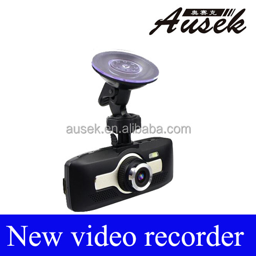 140 degree car wide angle dvr H.264 Fashion Design