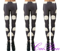 Wholesale Girls Hot Leggings 3D Print Cartoon Fitness Cheap Price N1-78