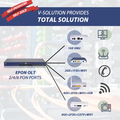 V-Solution Provides Total Solutions with Different Specification EPON OLT ONU GPON ONT Internet Data Port Voice VoIP WIFI