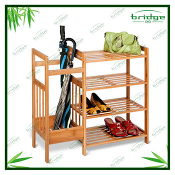 New modern bamboo shoe rack furniture