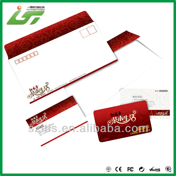 high quality customized fancy design for envelope with competitive price