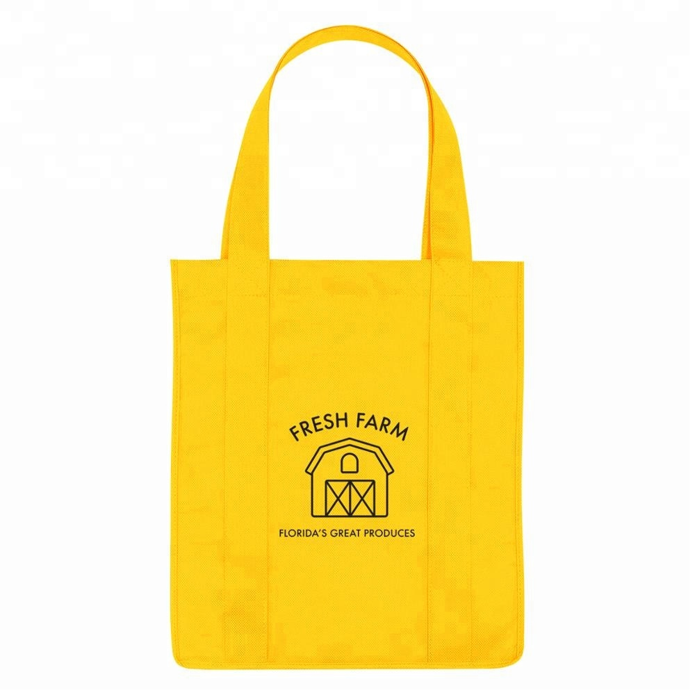 wholesale recycled eco friendly custom non woven tote bag with <strong>logo</strong>