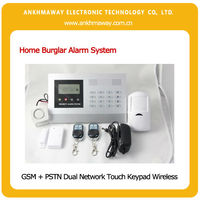 Home Security GSM Alarm System, Home Security Motion Sensor Alarm, Home Security Wireless Alarm