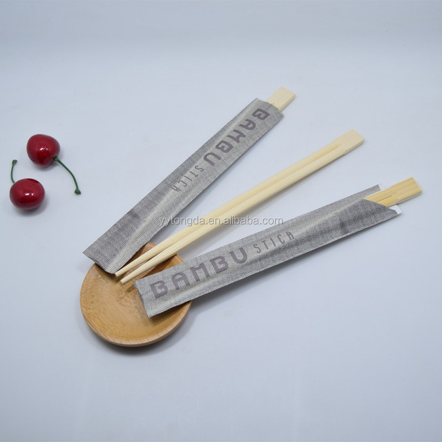 Chinese factory cheap price twin disposable restaurant bamboo chopsticks