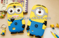 3D minion case for samsung galaxy note 2 N7100