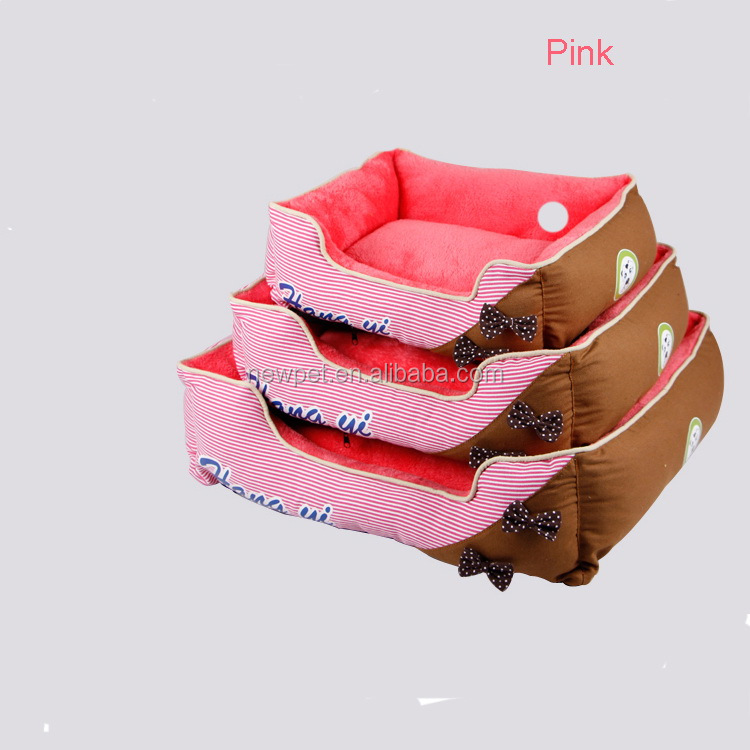 Super quality professional princess butterfly knots fold cat bed