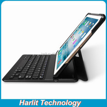 2015 New Style Bluetooth Keyboard With Leather Case Ultra Slim For Apple Mini Keyboard Stand