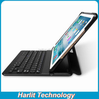 2016 Hot Sell Bluetooth Keyboard With Leather Case For Apple iPad Pro 9.7 inch Compatible With Air 2