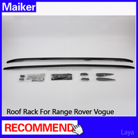 Aluminum alloy roof rack for Range Rover Vogue 2013-2014 Accessories roof rack Carrier Bar 4x4 off road luggage rack