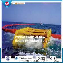 Cheap Neoprene rubber permanent deployment boom / oil spill containment seaweed Garbage fence
