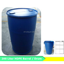HDPE plastic barrel 200 Liter drum
