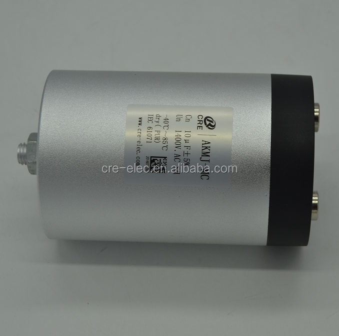 three phase filter, AC filter film capacitor, AKMJ-MC series 10uf 1400V.AC