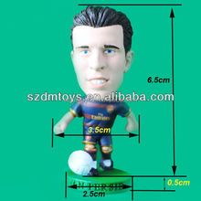 Custom Mini Plastic Football Player Toy Figurine