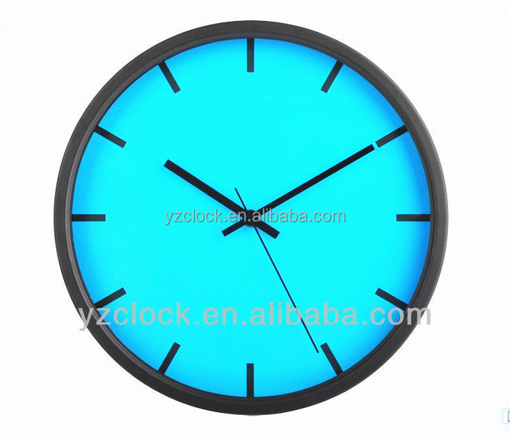hot selling simple round wall clocks wholesale 2016