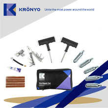 KRONYO tubeless auto tire repair kit equipment tool a8