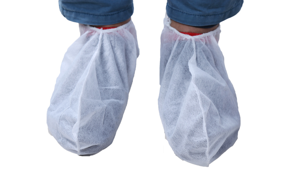 cheap nonwoven medical disposable anti-skid shoe cover