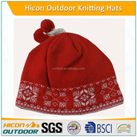 winter acrylic wholesale knitted hats