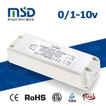 30W constant current 700mA 900mA 1200mA 0-10V PWM dimmable led power supply led driver