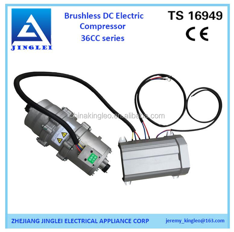 12V electric car ac dc compressor for electric truck ,ship sleep room