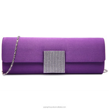 LY6681 LADIES ENVELOPE DIAMANTE SATIN Chain CLUTCH EVENING BAG GUANGZHOU BAGS FASHION PURSE 2015 BEAUTIFUL WALLET SHOULDER BAG