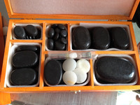 healthcare hot massage stone set