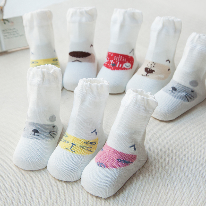 wholesale cute knitted cotton baby socks christmas sock