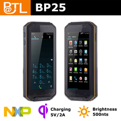 BATL BP25 built in gps gloved-hand screen rugged android 4.2 phone 4000mAh