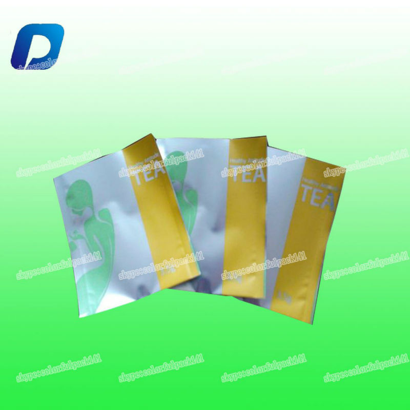 seed bag wholesale empty/plastic pouch/tea packaging