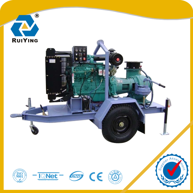 P-type self priming diesel water pump 400m3/h flow