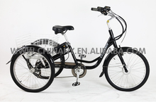 2015 new model 7015E 7 speeds wholesale price with CE approved adult electric tricycle/electric cargo tricycle