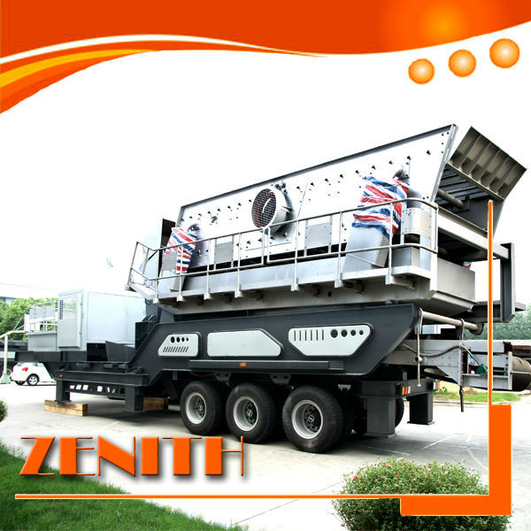 Stone crushing plant mobile jaw crusher,rock quarry machine