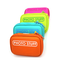 Protective durable colorful custom hard waterproof small camera accessories case