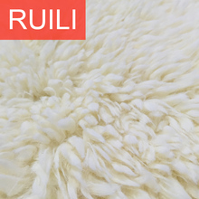 long pile shaggy fur plush fabric
