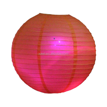 Wedding and party led outdoor paper ball lanterns lights ZDL02-6