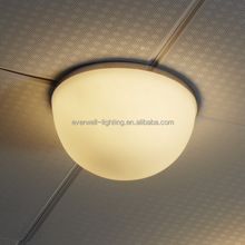 modern glass purple ceiling light