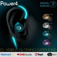 Sport Earphones / wireless bluetooth headphones retractable earphone for mobile devices